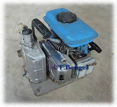 Pumpe mit Benzinmotor