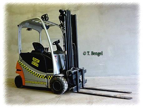 Elektro-4-Rad-Stapler
